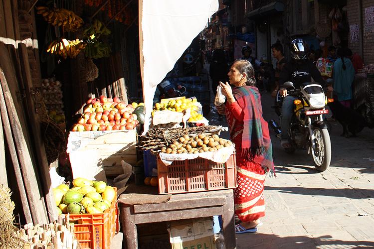 Овощная лавка в Тамеле
