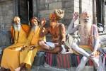 Садху в Пашупатинатхе