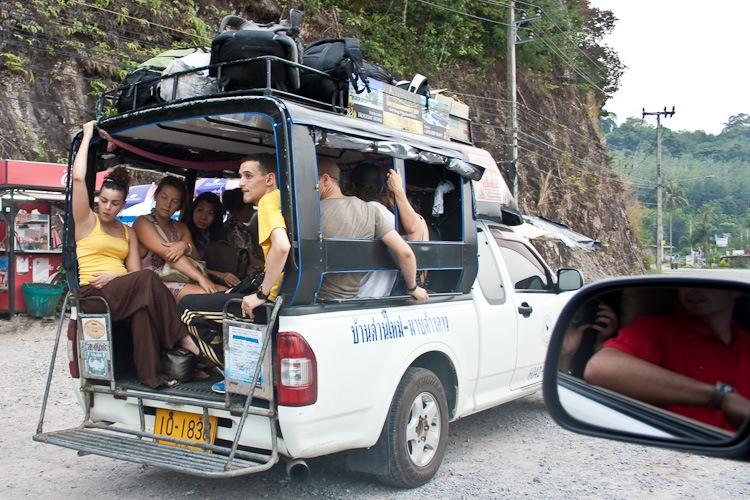 Такси до гостиницы на Ко Чанге