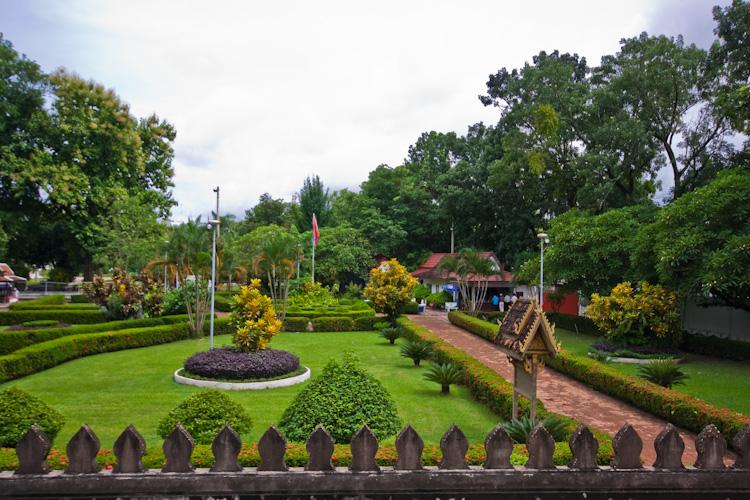 Сад в Хопхакео