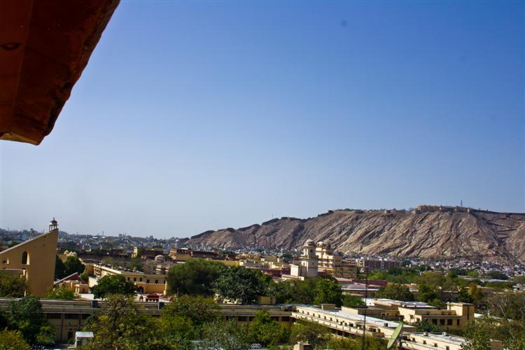 Обзор Джайпура с Дворца ветров