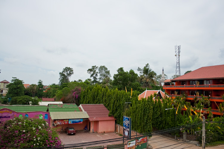 Гест в Сием Рипе: вид с террасы