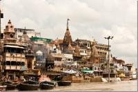 Вид на гхаты с реки Ганг, Варанаси