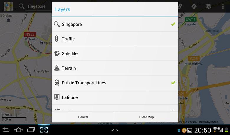Google_maps_layers
