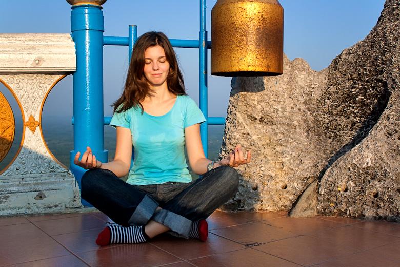 Медитация в Tiger cave temple