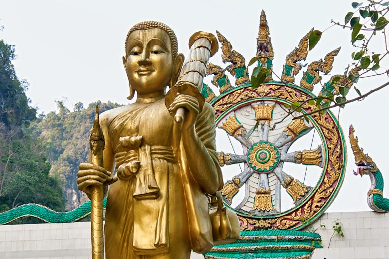 Буддийская символика в тайско-китайском храме
