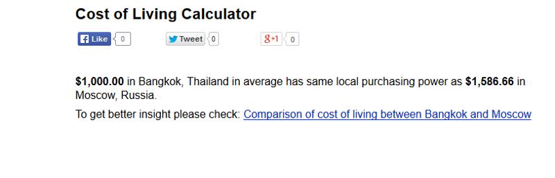В таиланде жить выгодно